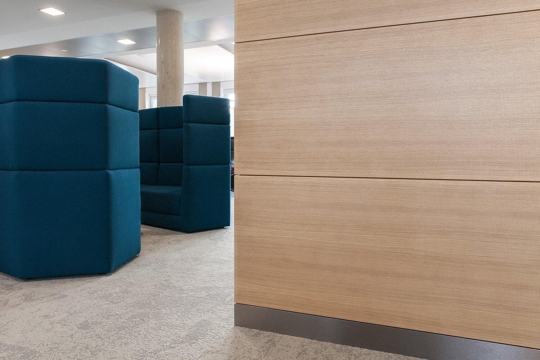 akustikplatten f r decke wand lochplatten paneele akustikdecke von trikustik. Black Bedroom Furniture Sets. Home Design Ideas