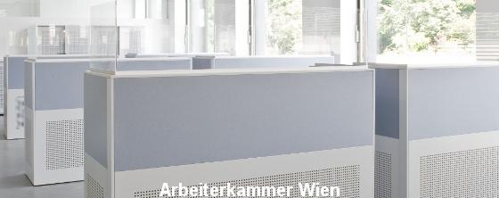 Akustik im Büro: Arbeiterkammer Wien - Trikustik
