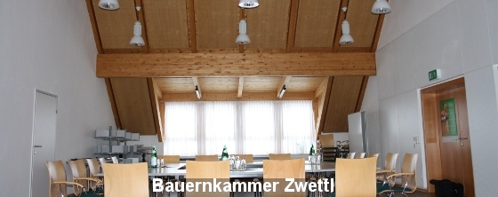 Büroakustik: Bauernkammer Zwettl - Trikustik