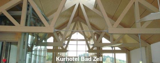 Akustik in Schwimmhallen: Kurhotel Bad Zell - Trikustik