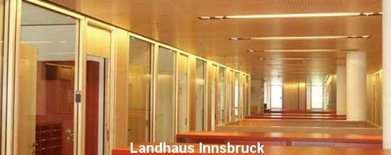 Raumakustik Büro: Landhaus Innsbruck - Trikustik