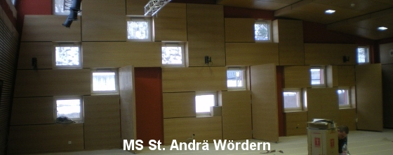 Akustik Probenraum: MS St.Andrae - Trikustik
