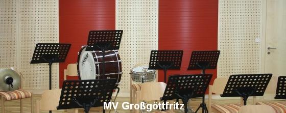 Akustik Probenraum MV Göttfritz - Trikustik