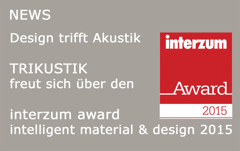 Akustik & Holzpaneele News - Trikustik