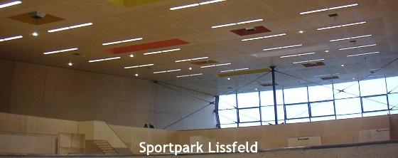Raumakustik Sporthalle & Sportpark Lissfeld - Trikustik