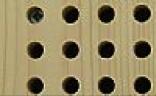 Holzunterkonstruktion Akustikdecke aus Lochplatten - Trikustik