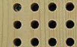 Lochplatte für Akustikdecke: Abhängen Holzunterkonstruktion - Trikustik